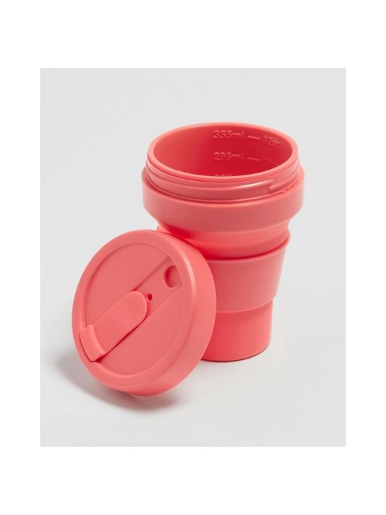 Stojo - Pocket Cup -kestokuppi 355 ml - KORALLI | Stockmann - photo 3