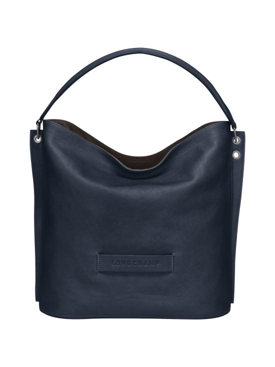 Longchamp - Longchamp 3D Hobo Bag - Nahkalaukku - MIDNIGHT BLUE | Stockmann - photo 1