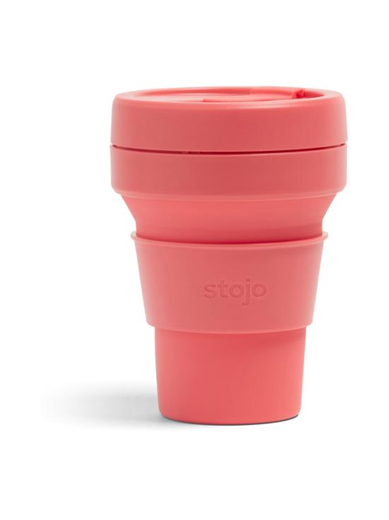 Stojo - Pocket Cup -kestokuppi 355 ml - KORALLI | Stockmann - photo 1