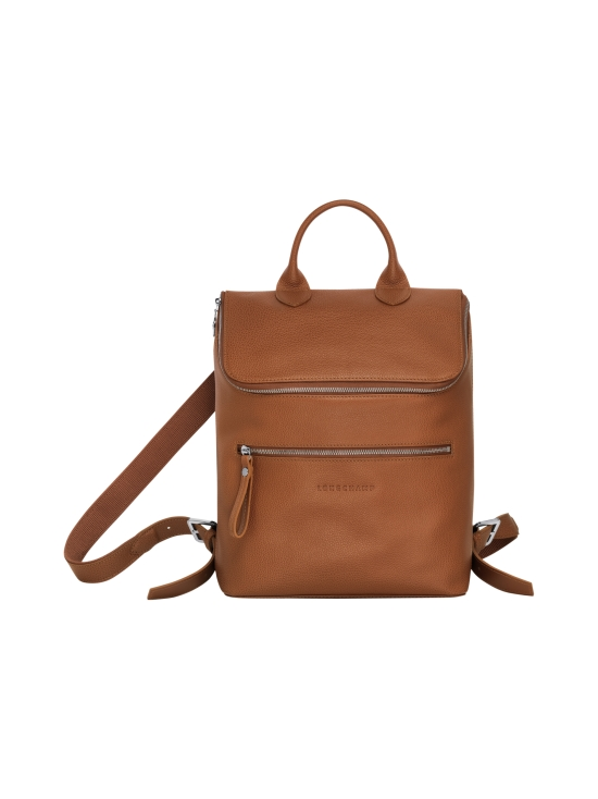 Longchamp - Le Foulonné Backpack - Reppu - CARAMEL   Stockmann - photo 1