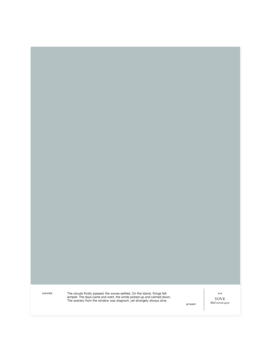 Cover Story - Sävymalli 016 TOVE - mid strom grey | Stockmann - photo 1