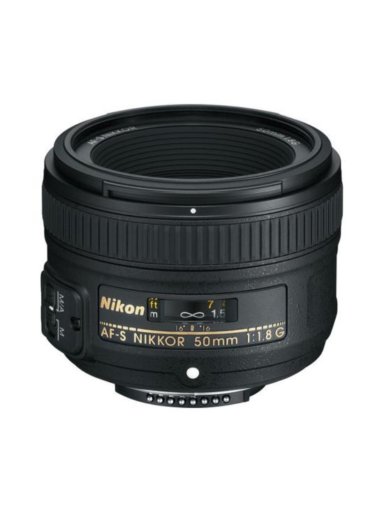 Nikon - Nikon AF-S Nikkor 50mm f/1.8G -objektiivi | Stockmann - photo 1