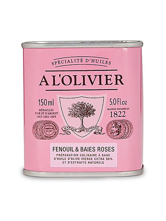 A L'Olivier - Oliiviöljy Extra Vergine Fenkoli Rosepippuri 250ml | Stockmann - photo 1