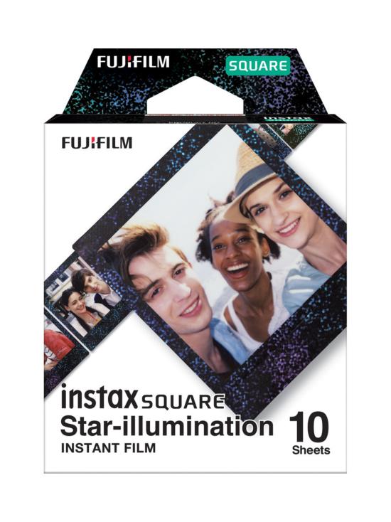 Fujifilm - Fujifilm Instax Film Square (10 kuvaa) pikafilmi - Star-illumination   Stockmann - photo 1