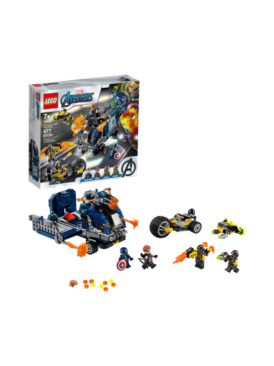Lego - LEGO SUPER HEROES Avengers Autotaistelu 76143 - null | Stockmann - photo 2