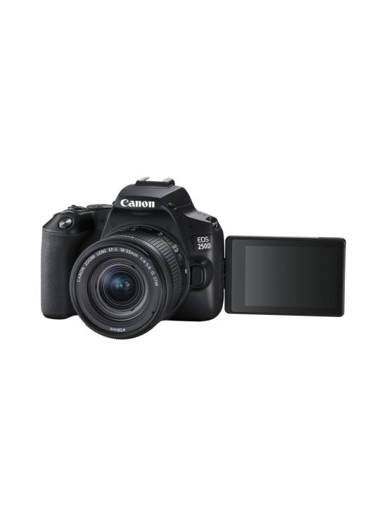 Canon - Canon EOS 250D + 18-55mm IS STM -järjestelmäkamera Kit - Musta - null | Stockmann - photo 1