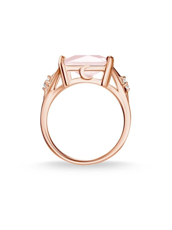 Thomas Sabo - Thomas Sabo Ring Large Pink Stone With Star -sormus | Stockmann - photo 3