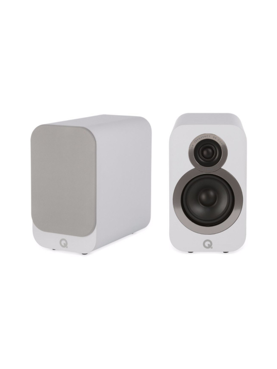 Q Acoustics - Q Acoustics Q3010i hyllykaiutin, valkoinen   Stockmann - photo 1