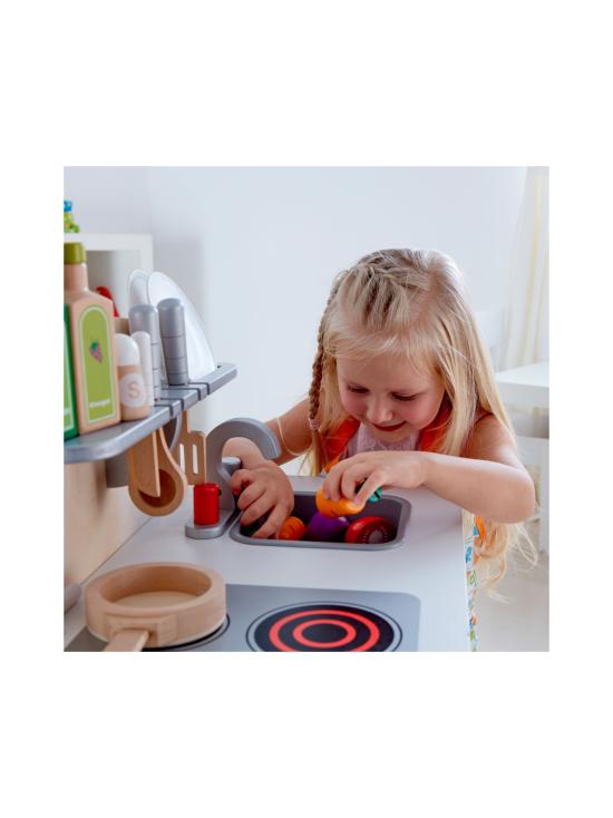 Hape - Puinen leikkikeittiö, Gourmet - VALKOINEN | Stockmann - photo 7