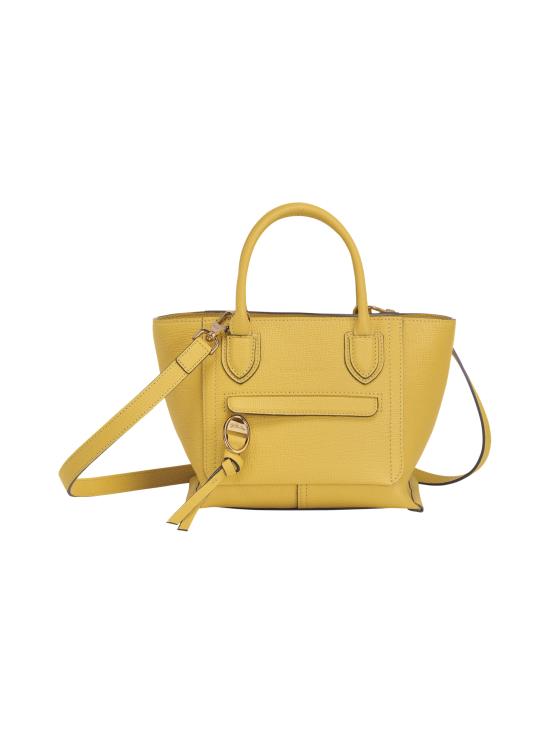 Longchamp - Mailbox Top Handle Bag S - Nahkalaukku - YELLOW | Stockmann - photo 1