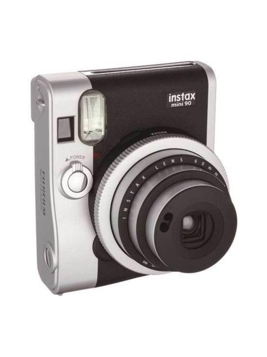 Fujifilm - Fujifilm Instax Mini 90 Neo Classic pikakamera - Musta   Stockmann - photo 1