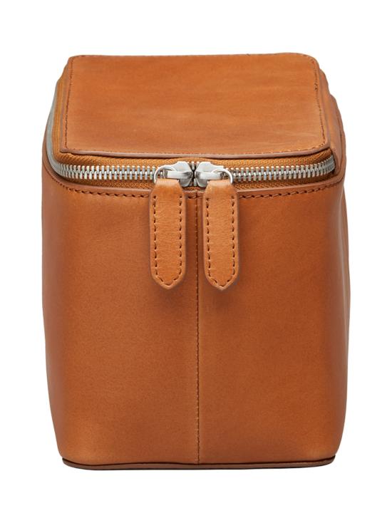 MMV Bags - Luton Leather Washbag -toilettilaukku - COGNAC (KONJAKINRUSKEA) | Stockmann - photo 3