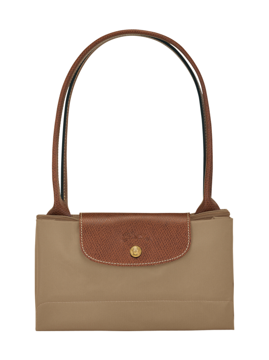 Longchamp - Le Pliage Shoulder Bag L - Laukku - DESERT | Stockmann - photo 4