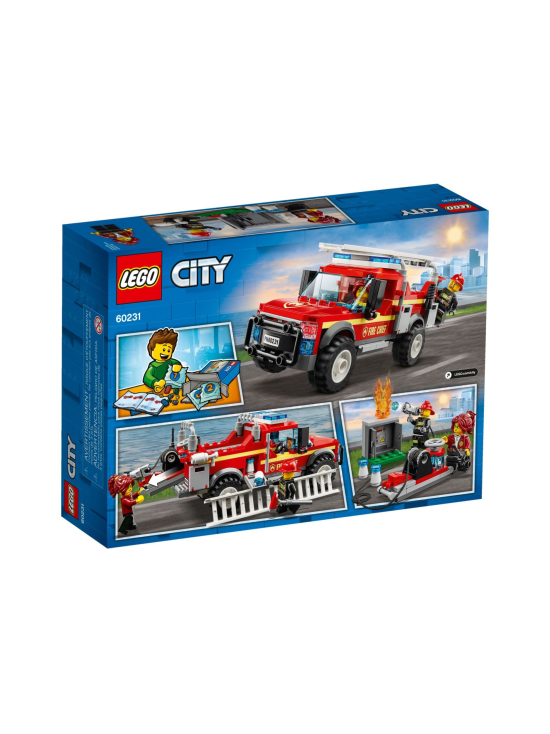 Lego City - LEGO CITY Palopäällikön auto 60231 - null | Stockmann - photo 2
