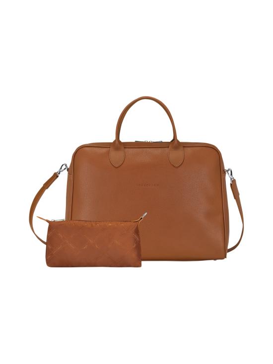 Longchamp - Le Foulonné - Briefcase L - Salkku - CARAMEL | Stockmann - photo 4