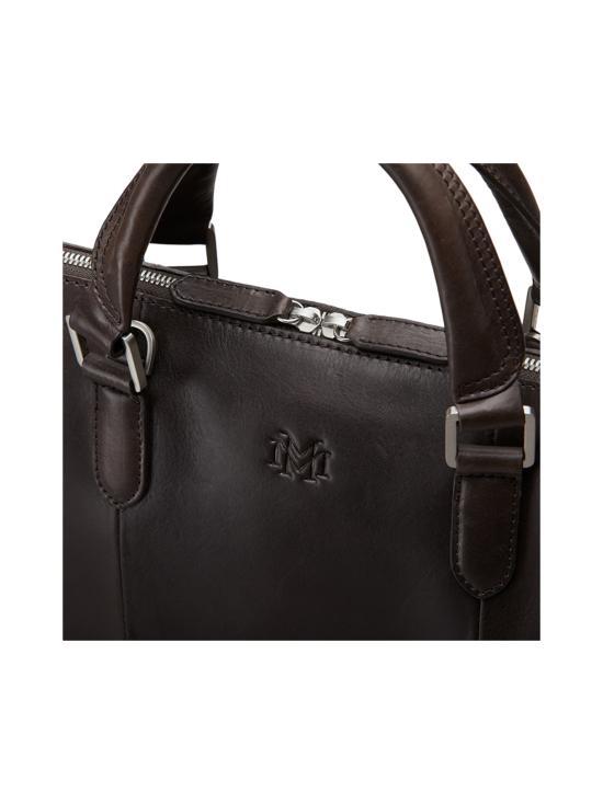 MMV Bags - Luton Briefcase -nahkasalkku - CHOCOLATE (TUMMANRUSKEA) | Stockmann - photo 6