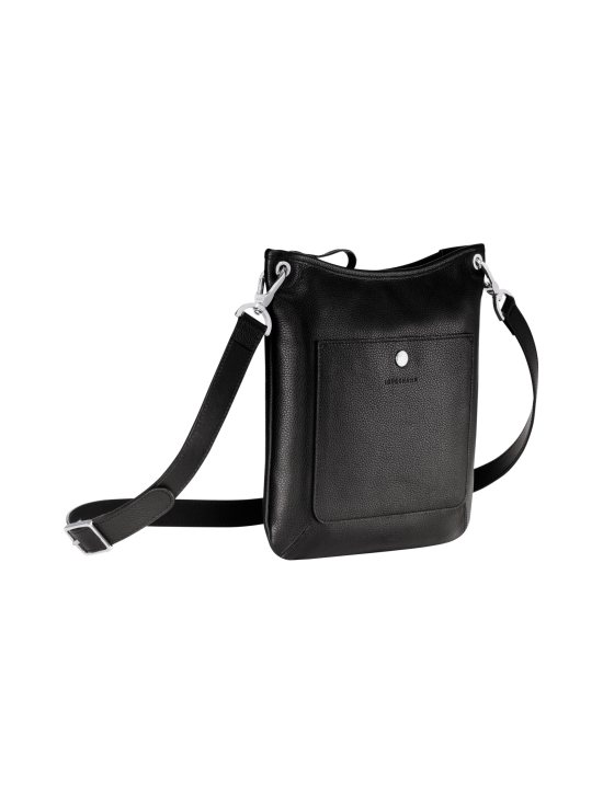 Longchamp - Le Foulonné Crossbody Bag - Nahkalaukku - BLACK | Stockmann - photo 2