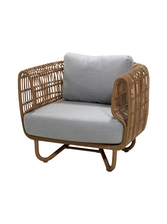 Cane-Line - Nest -kahden istuttava sohva - NATURAL, VAALEAN HARMAA | Stockmann - photo 2