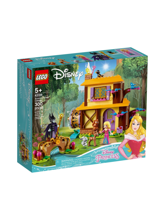 Lego Disney Princess - LEGO DISNEY PRINCESS Ruususen metsämökki 43188 - null | Stockmann - photo 1
