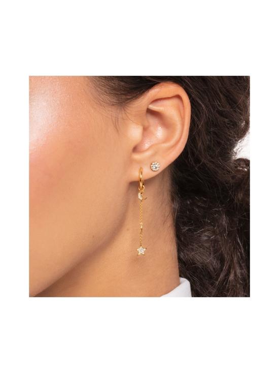 Thomas Sabo - Thomas Sabo Single Ear Stud White Stones Gold -korvakoru | Stockmann - photo 3