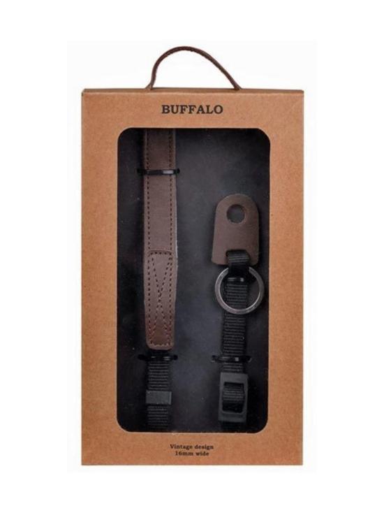 Gear - GEAR Buffalo - Nahkainen Classic kamerahihna - Ruskea - null | Stockmann - photo 1