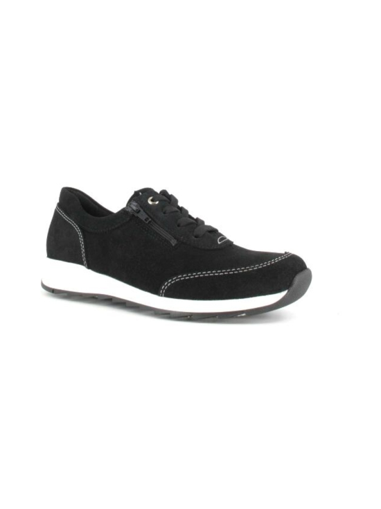Pomar - MARJA Naisten Tennarit - BLACK SUEDE (WHT S) | Stockmann - photo 7