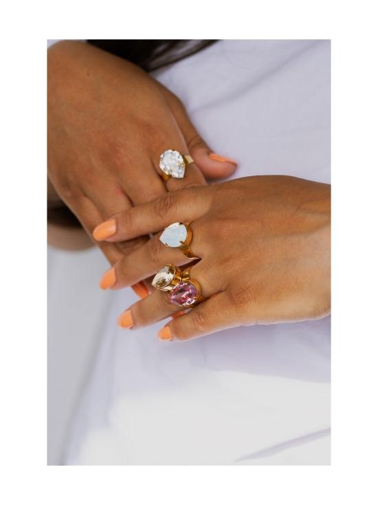 Degerberg Jewelry - Classic Collection sormus - Rose - 4 | Stockmann - photo 2
