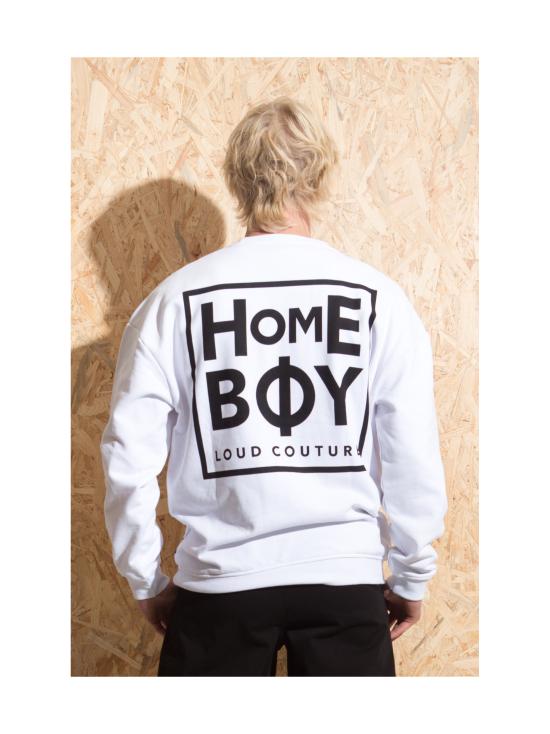 Homeboy - The Bigger homie - collegepaita - VALKOINEN | Stockmann - photo 4