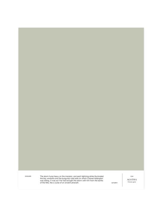 Cover Story - Sävymalli 026 AGATHA - green-gray   Stockmann - photo 1
