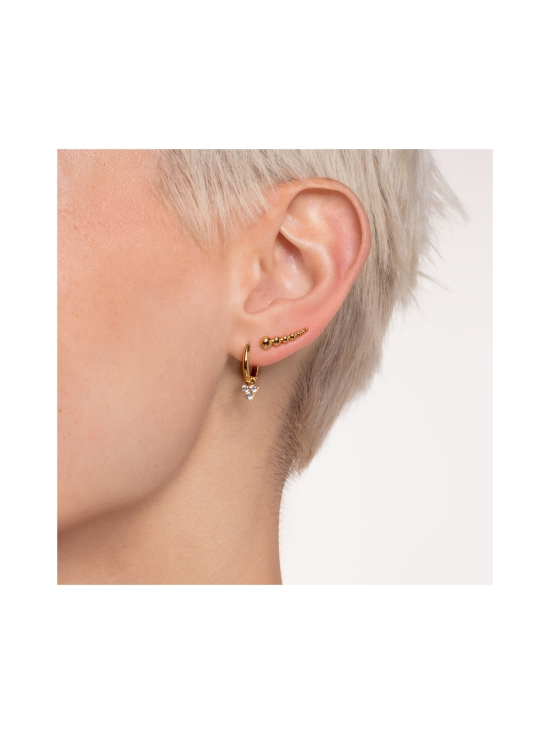 Thomas Sabo - Thomas Sabo Single Hoop Earring Classic Gold -korvakoru | Stockmann - photo 3
