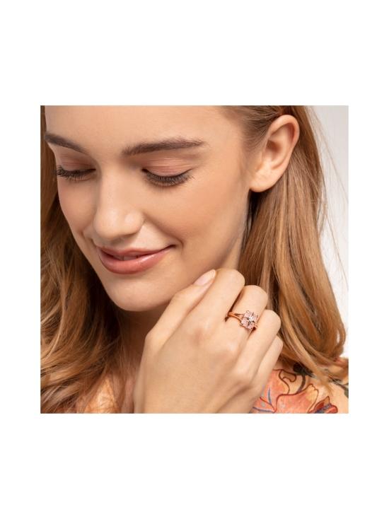 Thomas Sabo - Thomas Sabo Ring Pink Stone with Star -sormus | Stockmann - photo 3