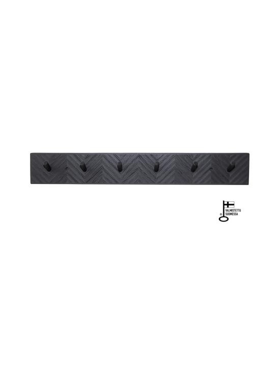Juurilla Design - Loimu-naulakko, kuusi koukkua - MUSTA | Stockmann - photo 1