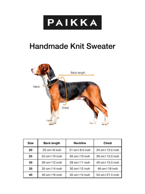 PAIKKA - Handmade Knit Sweater Burgundy - BURGUNDY   Stockmann - photo 4