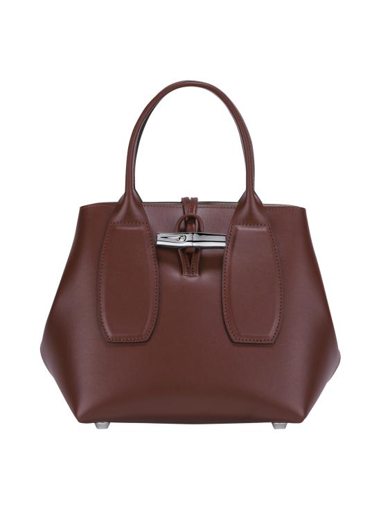 Longchamp - Roseau Box - Cube Bag - Nahkalaukku - MAHOGANY | Stockmann - photo 1