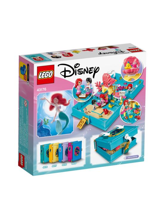 Lego Disney Princess - LEGO DISNEY Arielin satukirjaseikkailut 43176 - null | Stockmann - photo 2