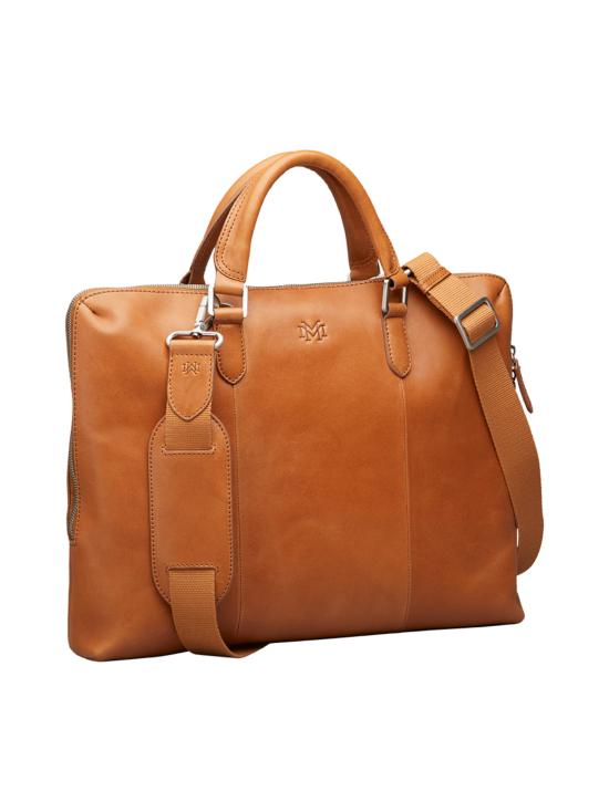 MMV Bags - Luton Briefcase -nahkasalkku - COGNAC (KONJAKINRUSKEA) | Stockmann - photo 2