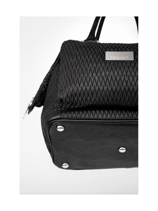 BELIEVE by tuula rossi - SMART BAG Black Stretch Tikkikangas Käsilaukku - BLACK, MUSTA | Stockmann - photo 5