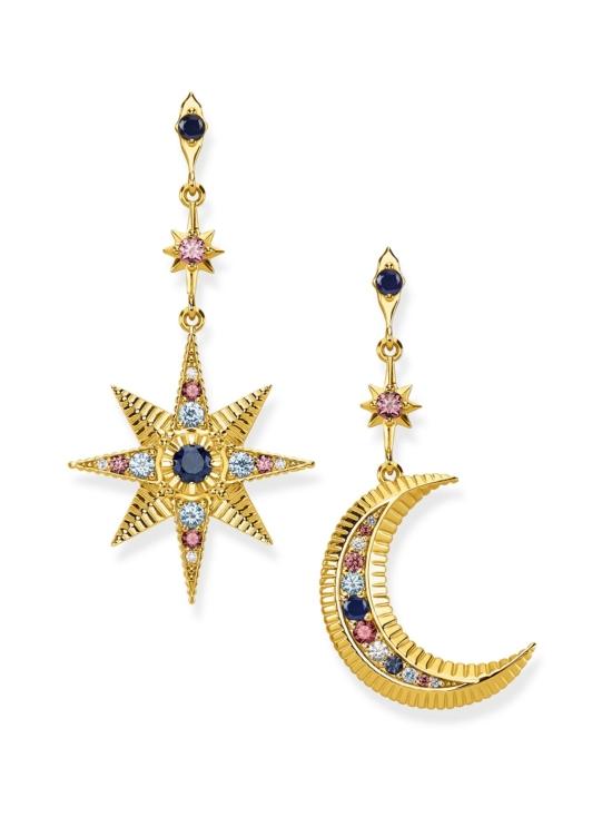 Thomas Sabo - Thomas Sabo Earrings Royalty Star And Moon -korvakorut   Stockmann - photo 1