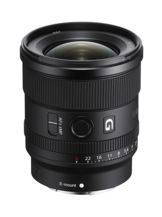 Sony - Sony FE 20mm f/1.8 G + 100e Cashback - null | Stockmann - photo 1