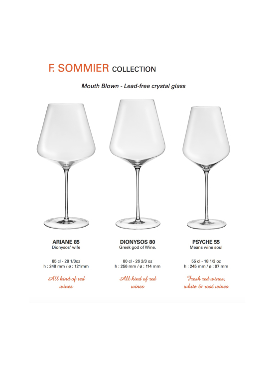 Lehmann Glass - Viinilasi F. Sommier 85cl Ariane (6 kpl) Suupuhallettu - null | Stockmann - photo 7