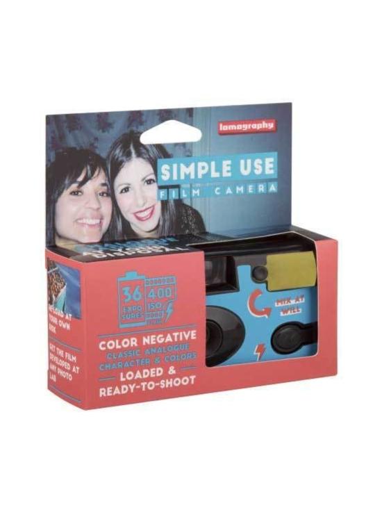 Lomography - Lomography Simple Use kertakäyttökamera 36-kuvan värifilmillä   Stockmann - photo 2