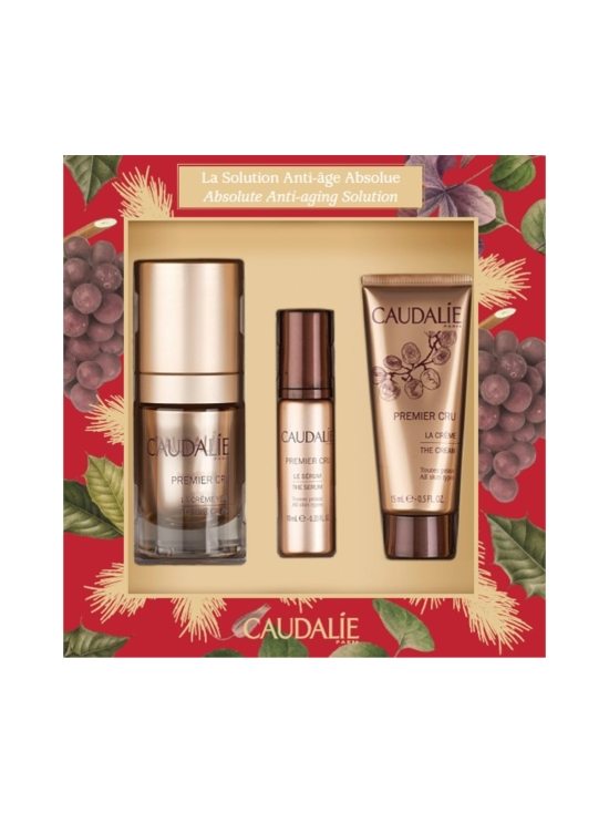 Caudalíe - Premier Cru Absolute Anti-Aging Solution -lahjapakkaus (15ml+10ml+15ml) - null | Stockmann - photo 1