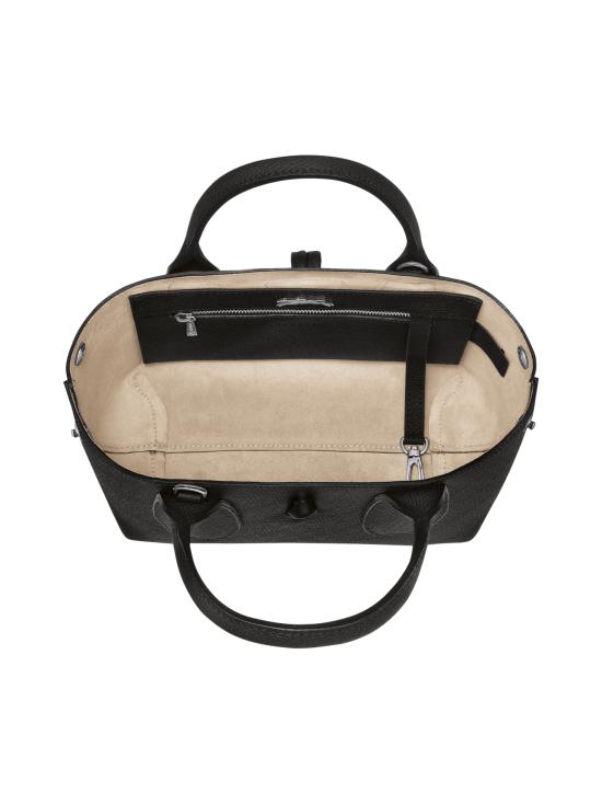 Longchamp - Roseau - Top handle bag S - Nahkalaukku - BLACK | Stockmann - photo 4