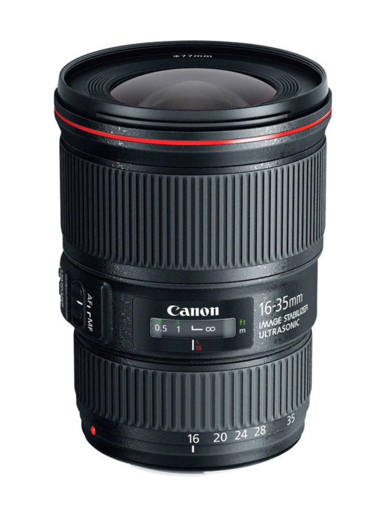 Canon - Canon EF 16-35mm f/4L IS USM - null   Stockmann - photo 1