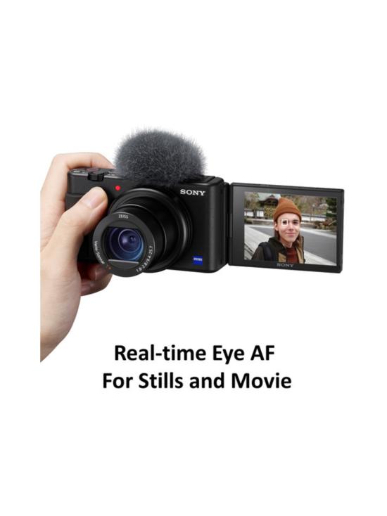 Sony - Sony ZV-1 -digikamera - Musta + 100e Cashback | Stockmann - photo 10