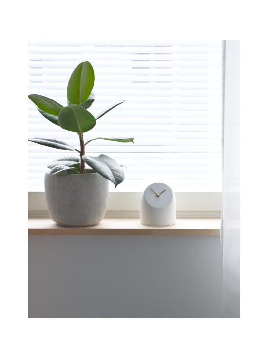 AVERI - Petit-pöytäkello, valkoinen/musta, 12cm - VALKOINEN | Stockmann - photo 2