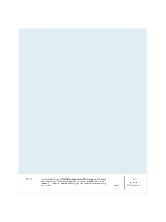 Cover Story - Sävymalli 015 ALBERT - mid blue-turquoise | Stockmann - photo 1