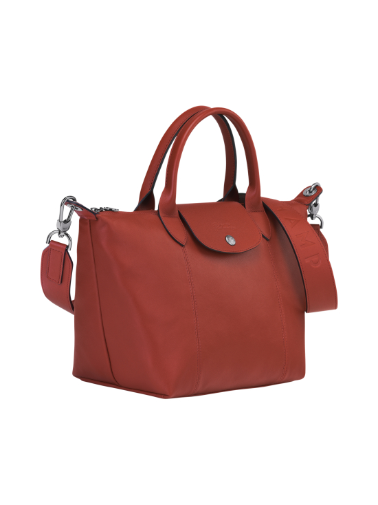 Longchamp - Le Pliage Cuir Top Hadle Bag S - Nahkalaukku - SIENNA | Stockmann - photo 2