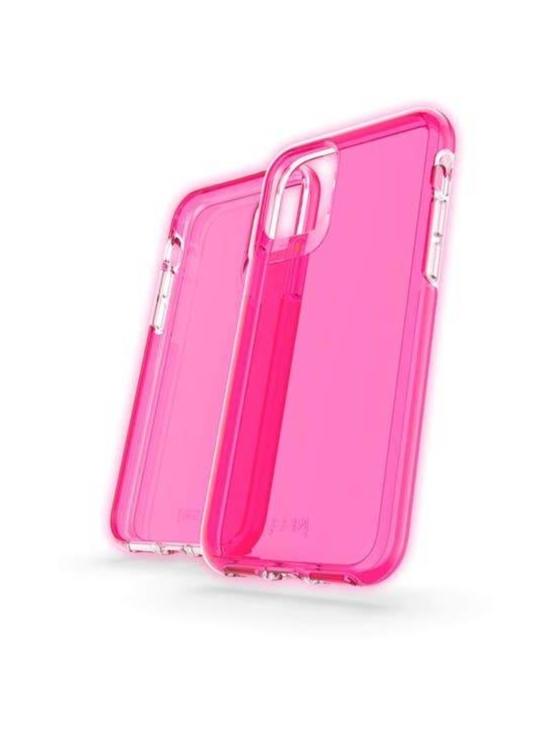 GEAR4 - Crystal Palace iPhone 11 Pro -suojakuori (Neon Pink) - PINKKI | Stockmann - photo 1