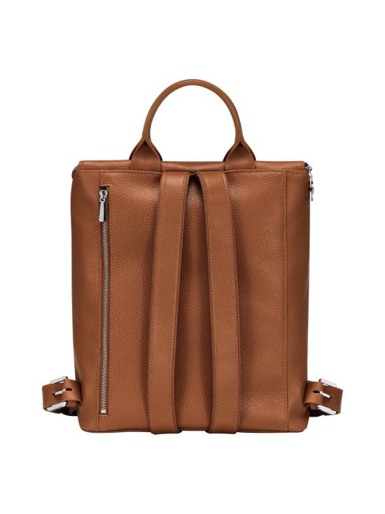 Longchamp - Le Foulonné Backpack - Reppu - CARAMEL   Stockmann - photo 3